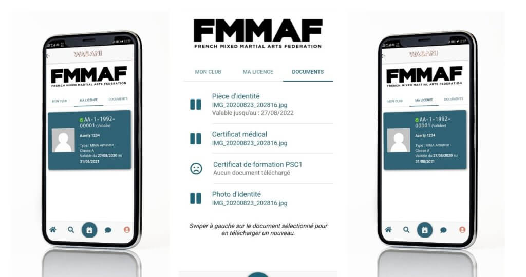 application prise licence mma fmmaf federation française de boxe mma mixed martial arts