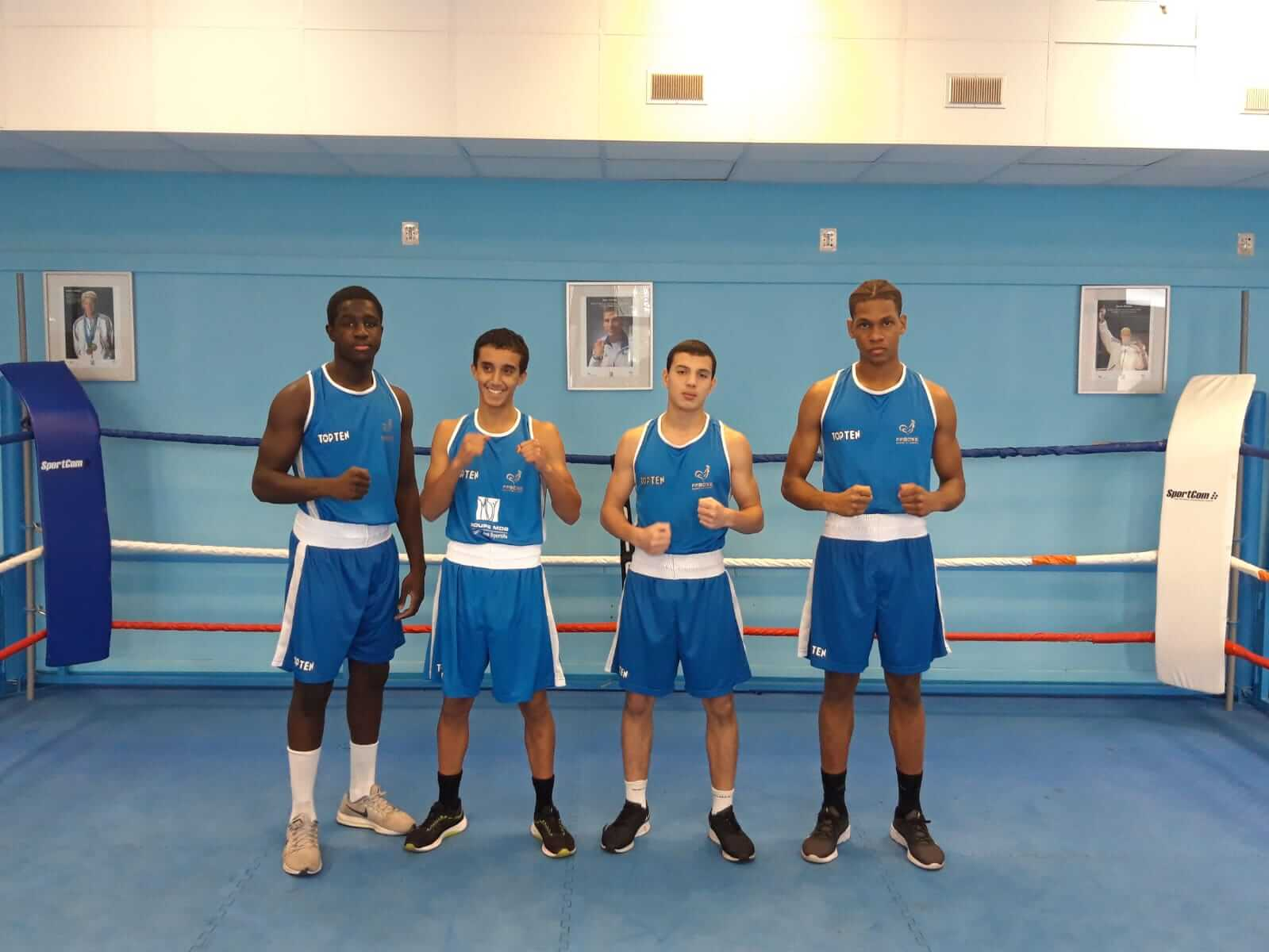 selection cadets europes championnats ffb federation française de boxe