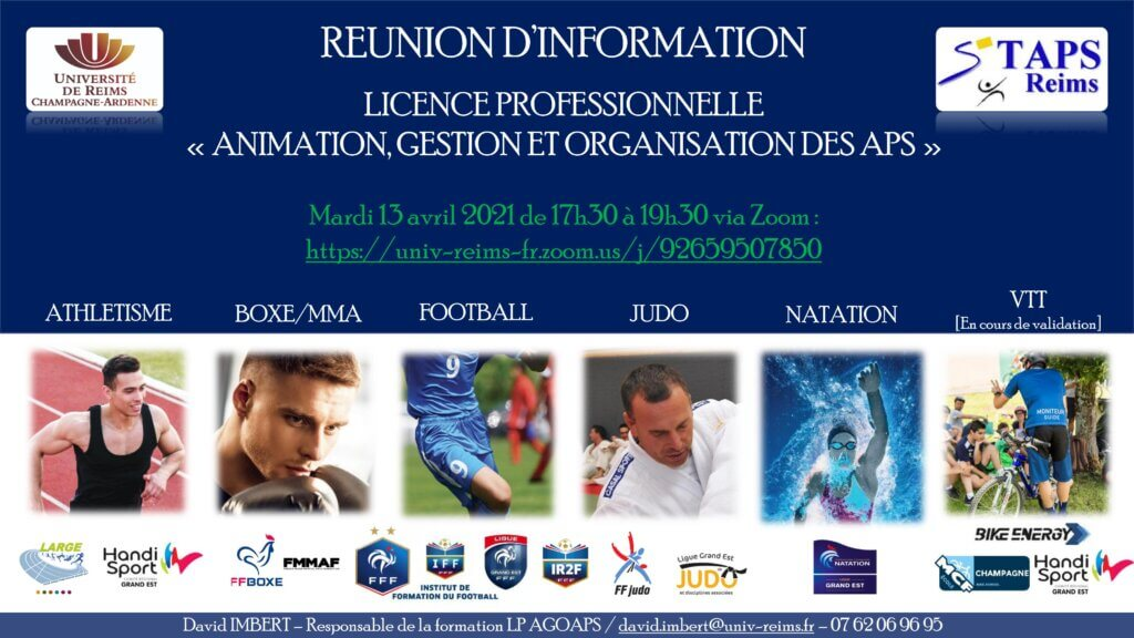 save the date visioconference licence agoaps ffb federation francaise de boxe